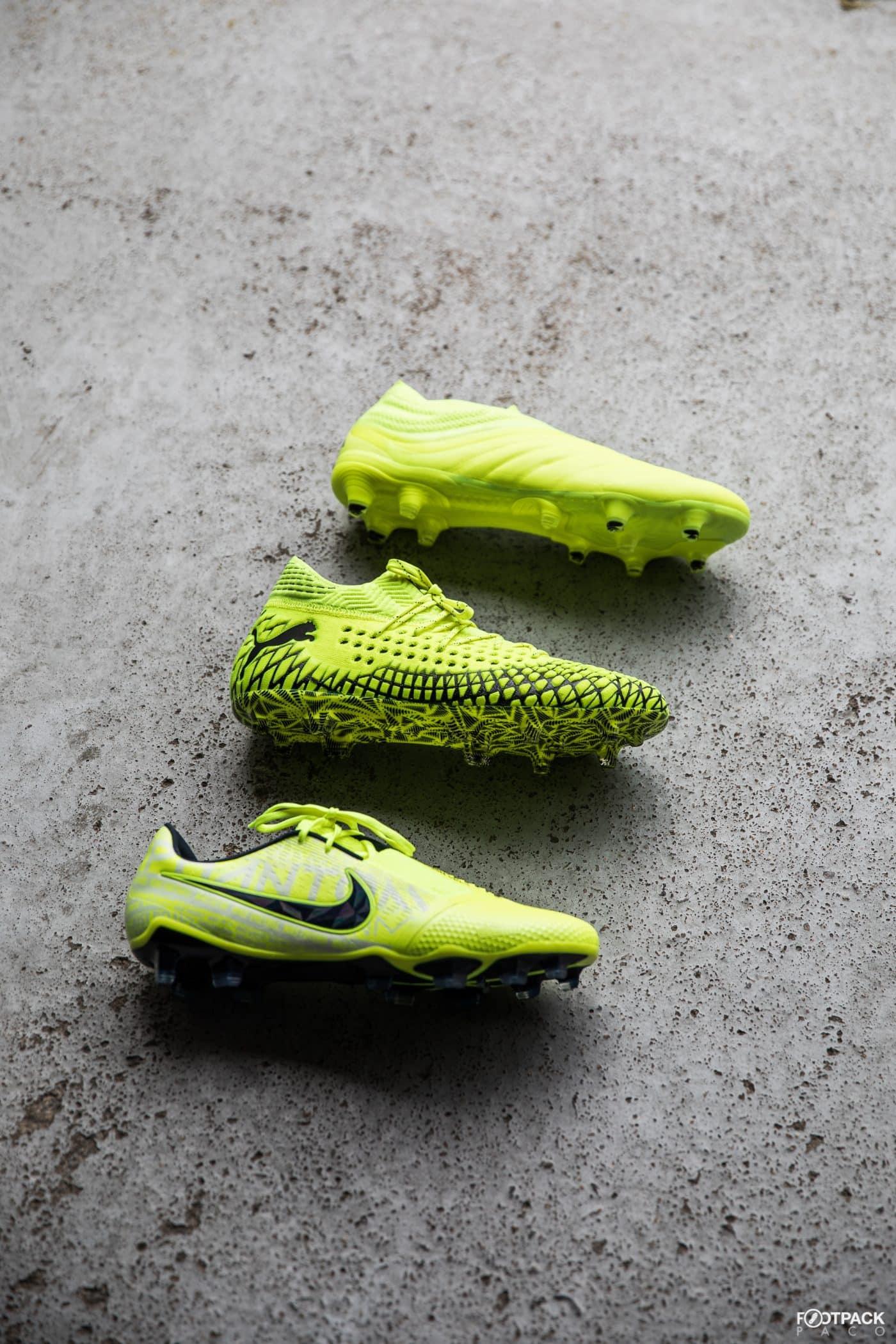 chaussure-jaune-fluo-football