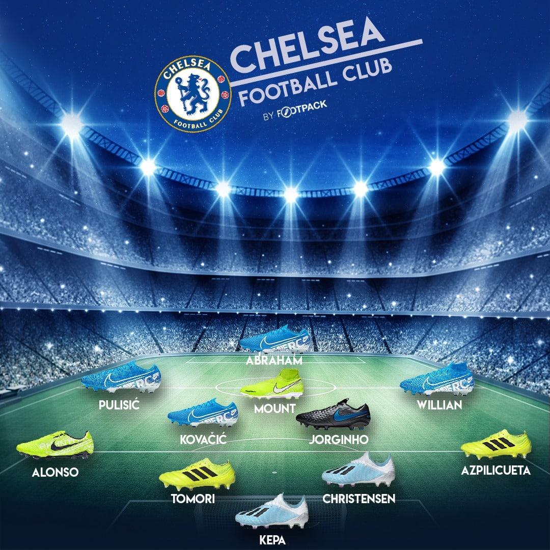 composition-chaussures-chelsea-ligue-des-champions-footpack