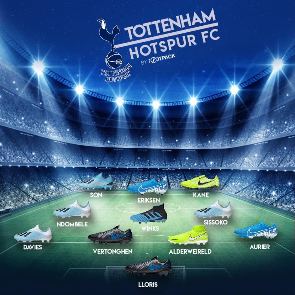 composition-chaussures-tottenham-ligue-des-champions-footpack-