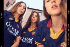 Image de l'article L'AS Roma dévoile ses maillots 2019-2020 avec Nike