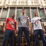 Les nouveaux maillots de l'AS Velasca, dignes d'une oeuvre d'art
