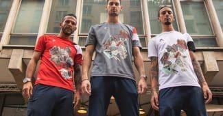 Image de l'article Les nouveaux maillots de l'AS Velasca, dignes d'une oeuvre d'art