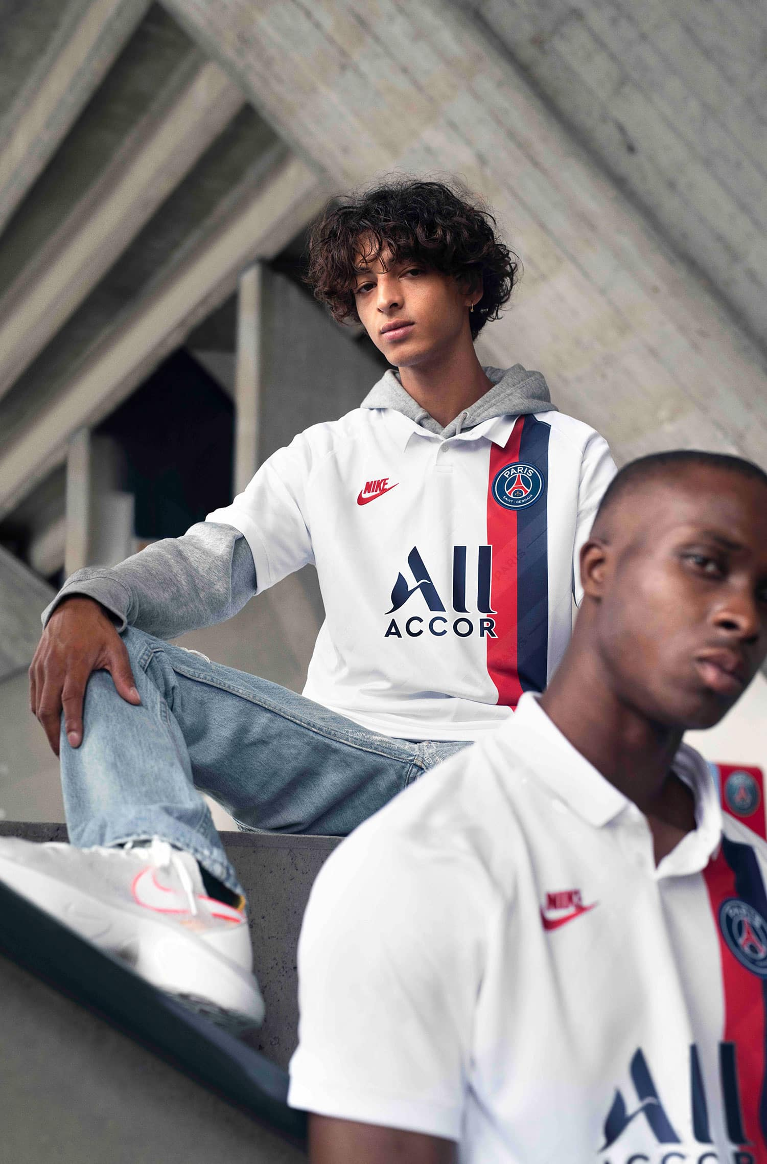 Le Paris Saint Germain et Nike dévoilent le maillot third