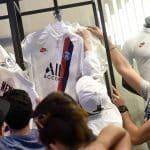 Quelle place pour le logo ALL sur le maillot third du PSG ?