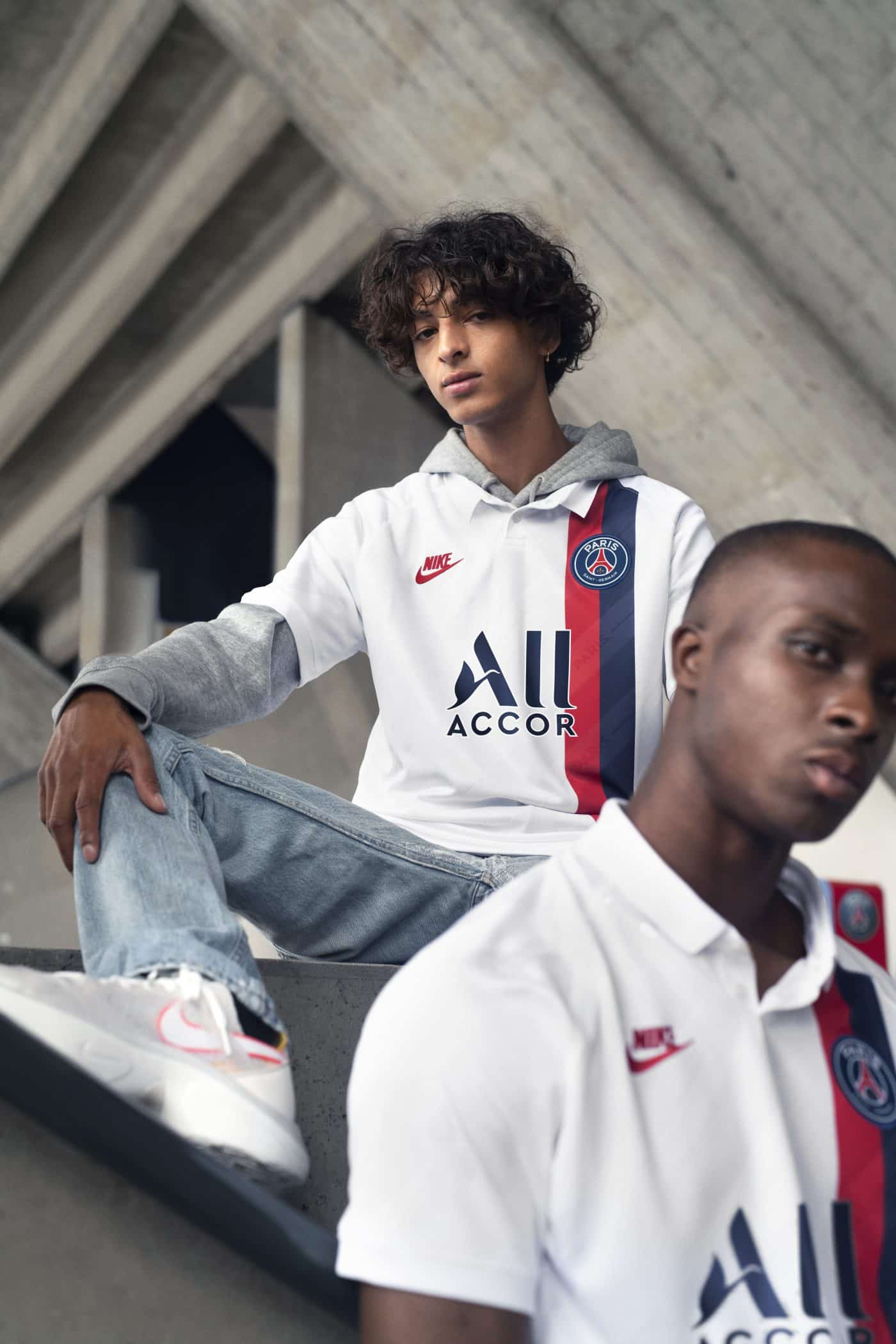 authentic high quality sports shoes Le Paris Saint-Germain et Nike dévoilent le maillot third ...