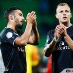 Un club hollandais joue un match sans son blason mais avec ses sponsors