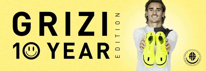 Puma célèbre les 10 ans de carrière de Griezmann avec une