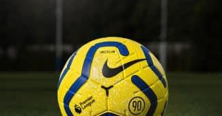 Image de l'article Nike dévoile la version hivernale du ballon de la Premier League inspirée du légendaire Total 90 des années 2000