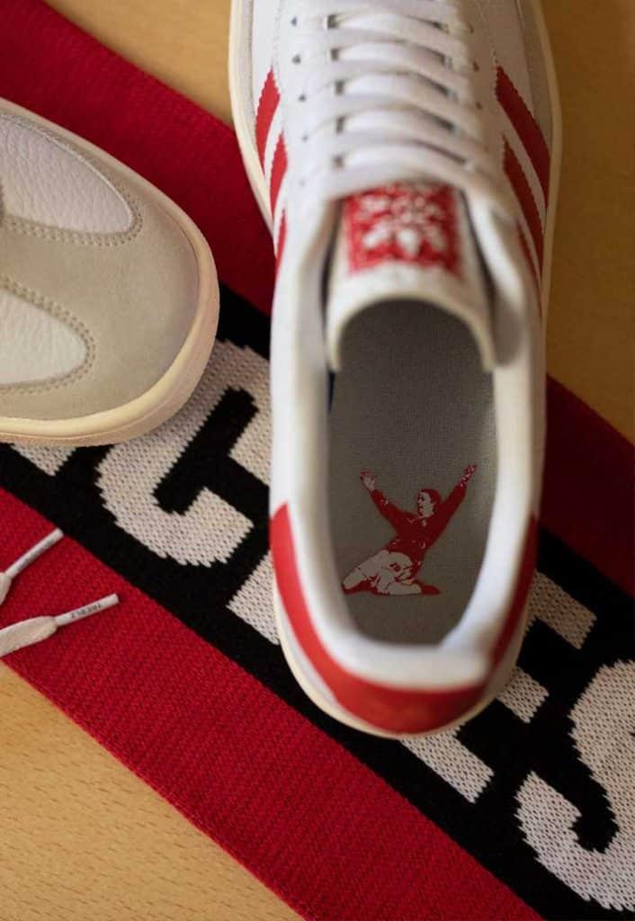 adidas lance une paire de sneaker pour célébrer Manchester