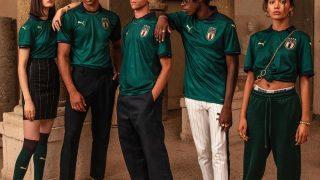Image de l'article Puma célèbre l'époque de la Renaissance sur un maillot de l'Italie