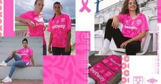 Image de l'article Un maillot rose pour West Ham United