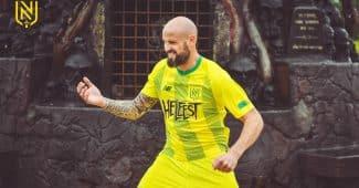 Image de l'article Le Hellfest débarque sur le maillot du FC Nantes