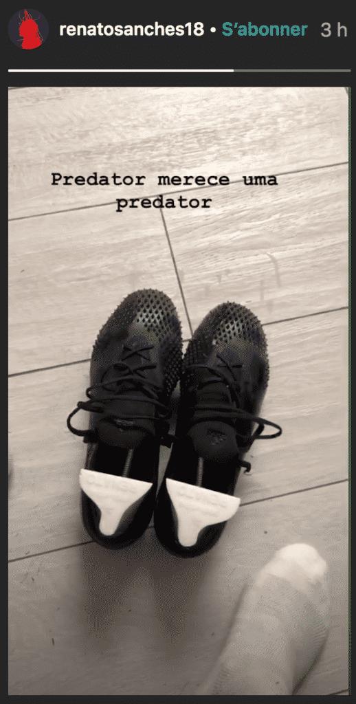 story-instagram-renato-sanches-predator-20-adidas