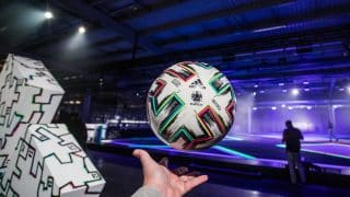 Le ballon de l'Euro 2020, Uniforia, présenté par adidas