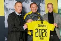 Image de l'article Puma, équipementier du Borussia Dortmund jusqu'en 2028