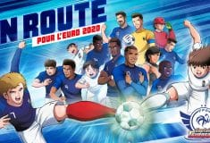 Image de l'article Bientôt une collaboration entre l'équipe de France et Captain Tsubasa?