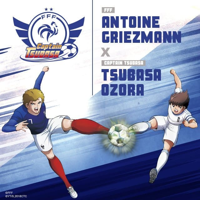 captain-tsubasa-equipe-de-france-football-euro-2020-antoine-griezmann