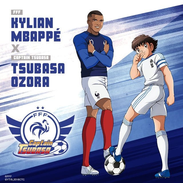 captain-tsubasa-equipe-de-france-football-euro-2020-kylian-mbappe
