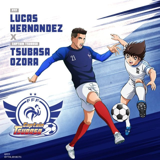 captain-tsubasa-equipe-de-france-football-euro-2020-lucas-hernandez