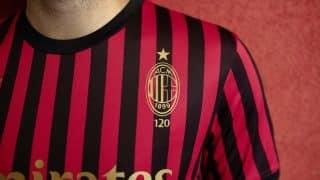Image de l'article Puma lance un maillot collector pour les 120 ans de l'AC Milan