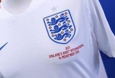 Image de l'article Des maillots spéciaux pour le 1000ème match officiel de l'Angleterre