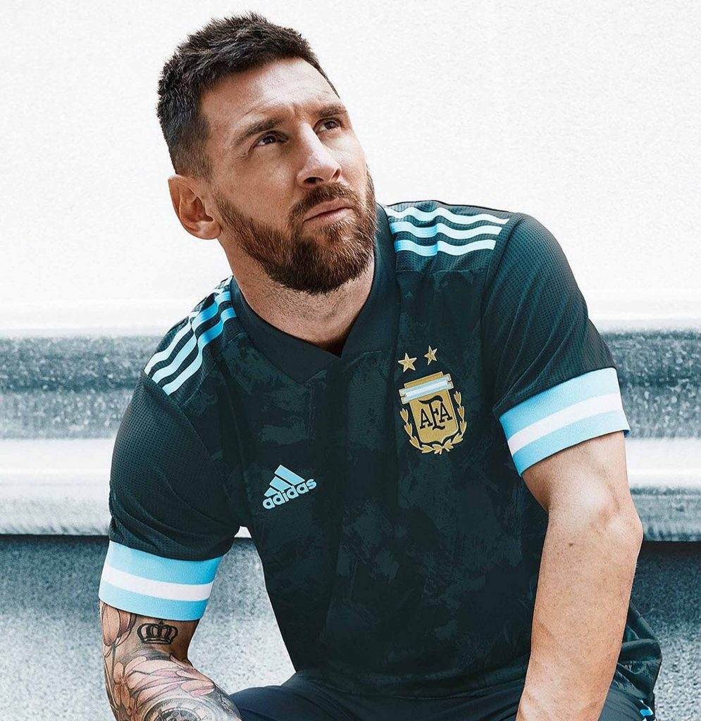 maillot-exterieur-argentine-copa-america-2020-lionel-messi