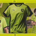 La République Tchèque et Puma présentent les maillots de l'Euro 2020
