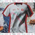La Suisse présente ses nouveaux maillots Puma pour l'Euro 2020