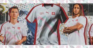 Image de l'article La Suisse présente ses nouveaux maillots Puma pour l'Euro 2020