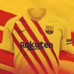 Le Barça dévoile un 4ème maillot aux couleurs de la Catalogne
