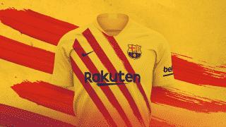 Image de l'article Le Barça dévoile un 4ème maillot aux couleurs de la Catalogne
