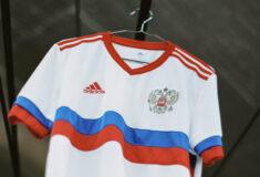 Image de l'article La Russie présente ses maillots adidas pour l'Euro 2020