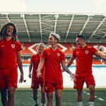 Les maillots adidas du Pays de Galles pour l'Euro 2020