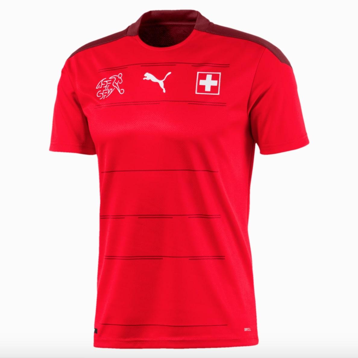 Maillot domicile Suisse Euro 2020 PUMA
