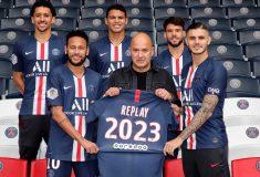 Image de l'article Le PSG annonce un nouveau partenariat avec la marque de jean Replay
