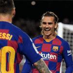 Messi aperçu avec une paire de  crampons Puma