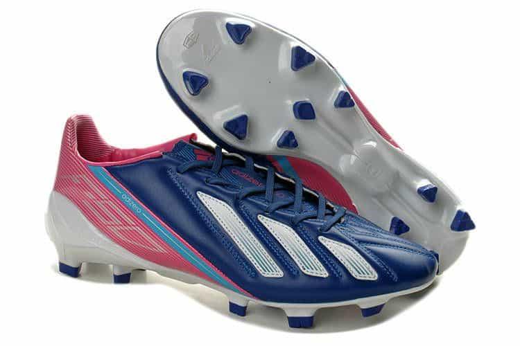 adidas f50 adiZero III miCoach Blue:White:Pink