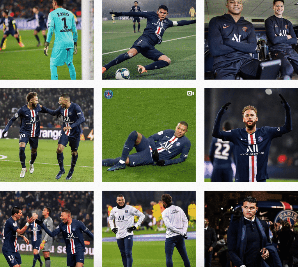capture-ecran-compte-instagram-paris-saint-germain