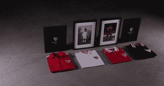 Image de l'article Copa réédite les maillots du FC Séville époque Diego Maradona