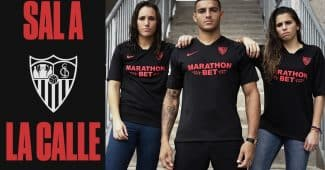 Image de l'article Le FC Séville lance un maillot «Black Edition» en quantité limitée