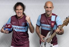 Image de l'article Iron Maiden s'invite sur un maillot de West Ham United