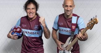 Image de l'article Iron Maiden s'invite sur un maillot de West Ham United