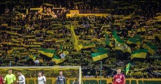 Image de l'article Au Stade – On était à Nantes – Bordeaux pour l'hommage à Émiliano Sala