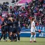 Au Stade : On était au match de D1 Féminine entre le PSG et l'OM