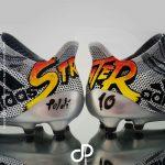 Une paire de crampons Street Fighters pour Lukas Podolski!