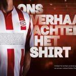 Le PSV Eindhoven joue avec un flocage de 1326 lettres!