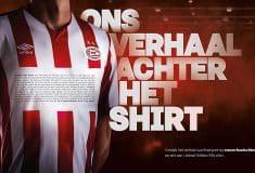 Image de l'article Le PSV Eindhoven joue avec un flocage de 1326 lettres!