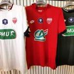 Dijon met en vente ses maillots de Coupe de France!