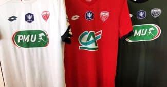 Image de l'article Dijon met en vente ses maillots de Coupe de France!