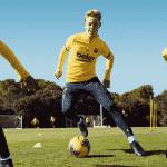 Nike présente les nouvelles tenues d'entrainements du FC Barcelone et sa nouvelle technologie